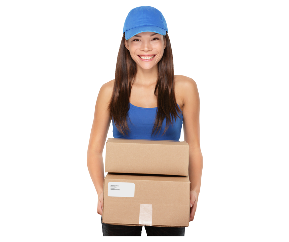 Girl With Packages